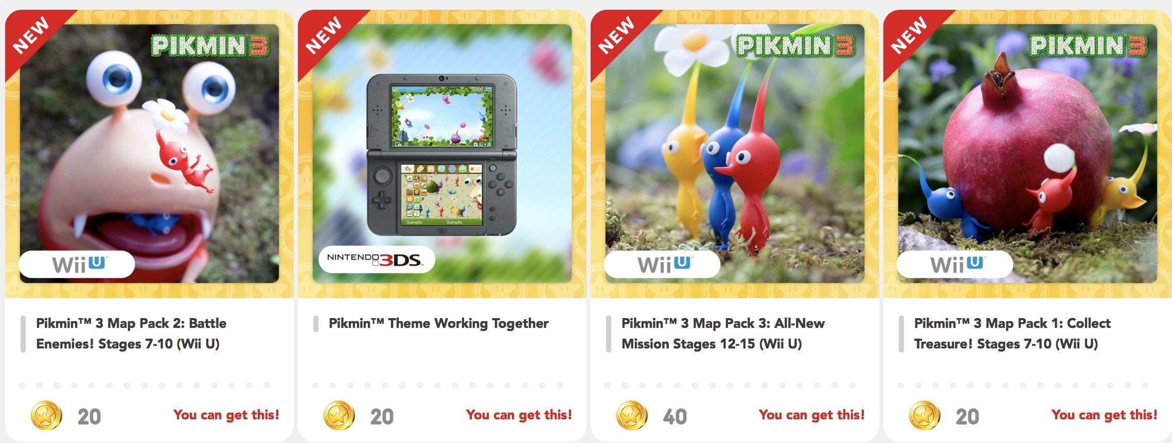 New My Nintendo Rewards Pikmin Nintendo Times