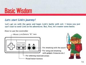 The Legend of Zelda Instruction Booklet - 16