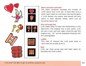 The Legend of Zelda Instruction Booklet - 22