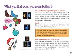 The Legend of Zelda Instruction Booklet - 24