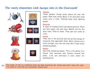 The Legend of Zelda Instruction Booklet - 29