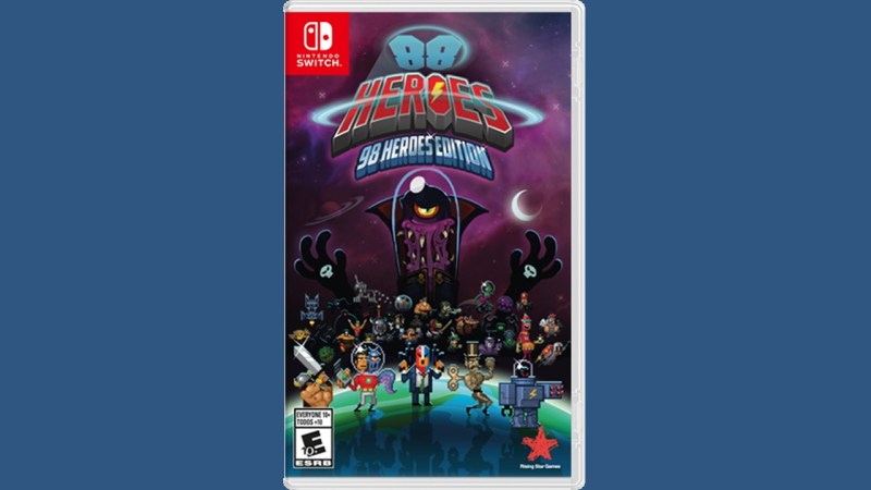 88 Heroes - 98 Heroes Edition (Switch) Game Hub