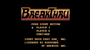 BreakThru (NES) Game Hub