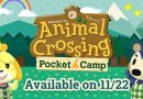 Animal Crossing: Pocket Camp Releases On November 22