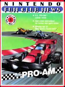 Nintendo Fun Club News | Feb-Mar 1988 Cover