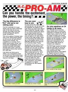 Nintendo Fun Club News | Feb-Mar 1988 RC Pro-Am-1