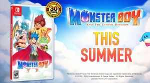 Monster Boy And The Cursed Kingdom Launching This Summer