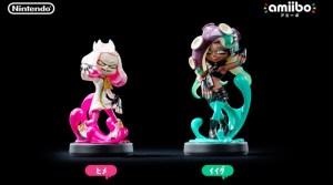 Pearl & Marina amiibo Announced For Splatoon 2