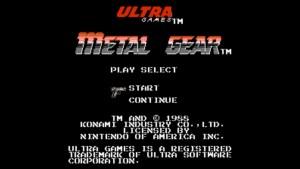 Metal Gear (NES) Game Hub