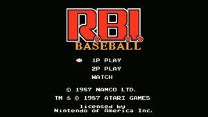 R.B.I. Baseball (NES) Game Hub
