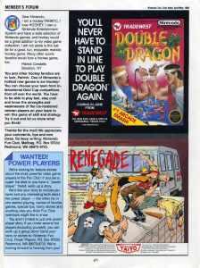 Nintendo Fun Club News April-May 1988 pg27