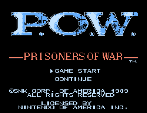 P.O.W. - Prisoners of War (Home) 01