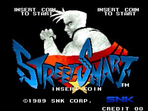 Street Smart (Arcade) 01