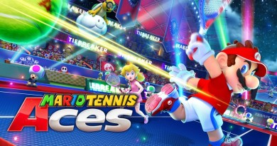 Mario Tennis Aces Official Site Opens