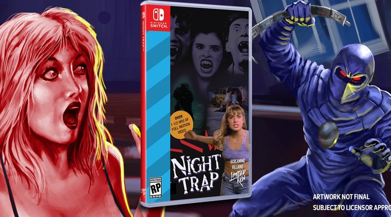 Night Trap: 25th Anniversary Edition Coming To Switch This Summer
