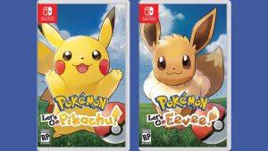 Pokémon: Let's Go, Pikachu! & Let's Go Eevee! (Switch) Game Hub