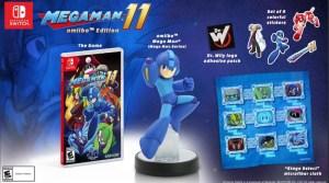 Mega Man 11 Amiibo Edition Up For Pre-Order At GameStop