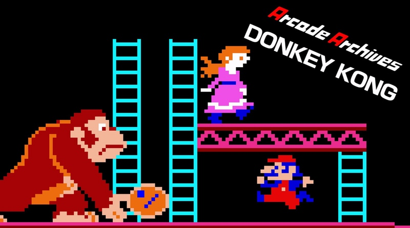Arcade Donkey Kong Now On Switch eShop, Plus Sky Skipper Coming In July