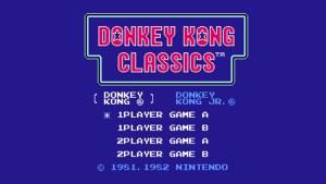 Donkey Kong Classics (NES) Game Hub