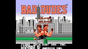 Bad Dudes (NES) Game Hub