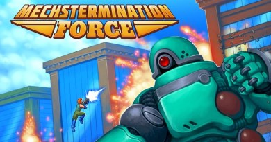 Gunman Clive Creator Bringing Mechstermination Force To Switch On April 4
