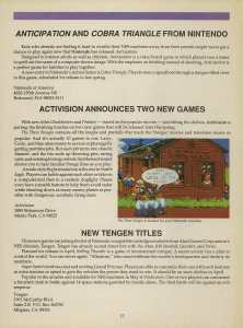 Game Player's Strategy Guide to Nintendo Games Issue 2 Pg. 015