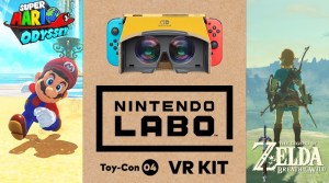 Super Mario Odyssey & Zelda: Breath Of The Wild Getting Nintendo Labo VR Support