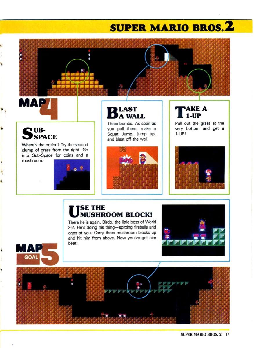 Nintendo Power | July Aug 89 | SMB 2 Hint Book – 17 – Nintendo Times