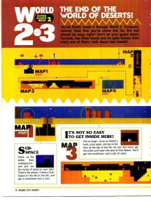 Nintendo Power | July Aug 89 | SMB 2 Hint Book - 18