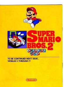 Nintendo Power | July Aug 89 | SMB 2 Hint Book - 36