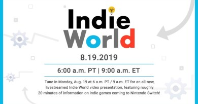 Nintendo To Air Indie World Video Showcase On Monday