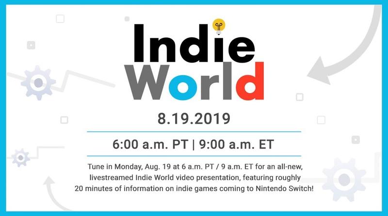 Nintendo To Air Indie World Video Showcase On Monday