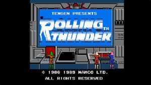 Rolling Thunder (NES) Game Hub