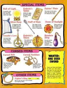 Nintendo Power | November December 1989 | Dragon Warrior Strategy Guide pg-12