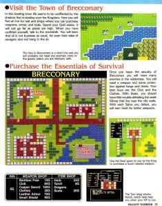 Nintendo Power | November December 1989 | Dragon Warrior Strategy Guide pg-23