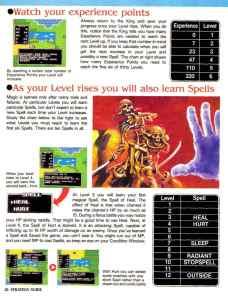 Nintendo Power | November December 1989 | Dragon Warrior Strategy Guide pg-26