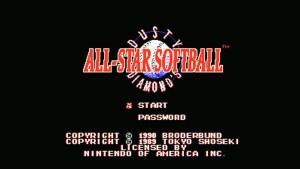 Dusty Diamond's All-Star Softball (NES) Game Hub