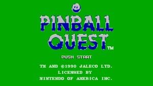 Pinball Quest (NES) Game Hub