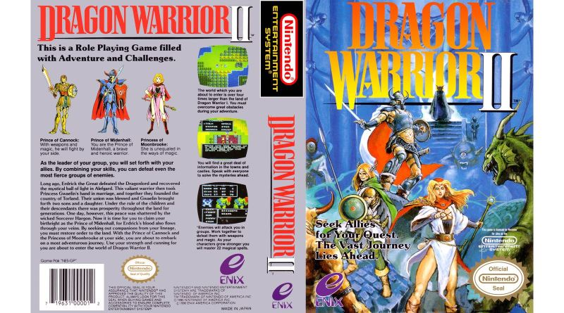 Dragon Warrior II Review