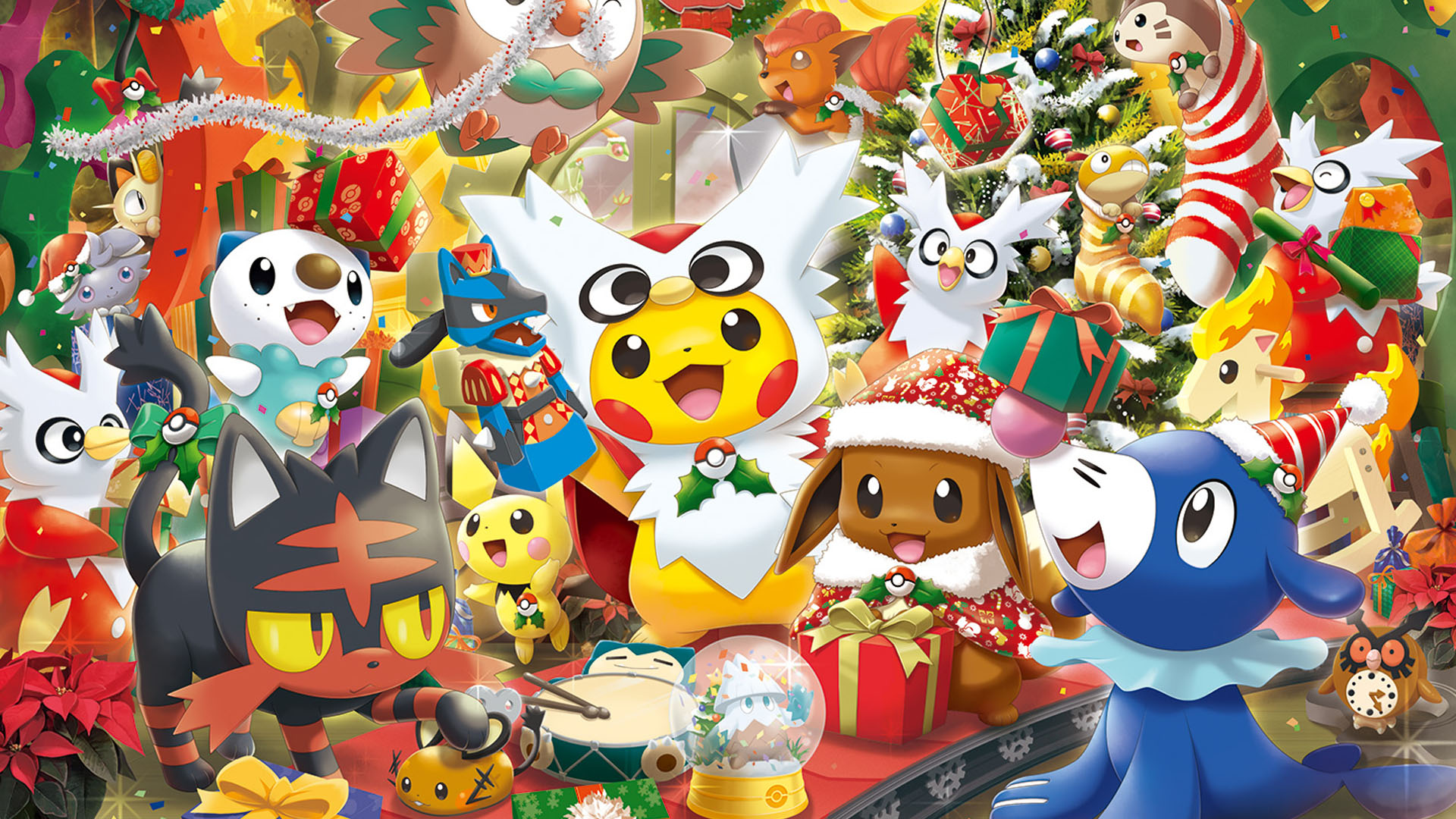 Winter And Christmas Merch Coming To Pokmon Centers In