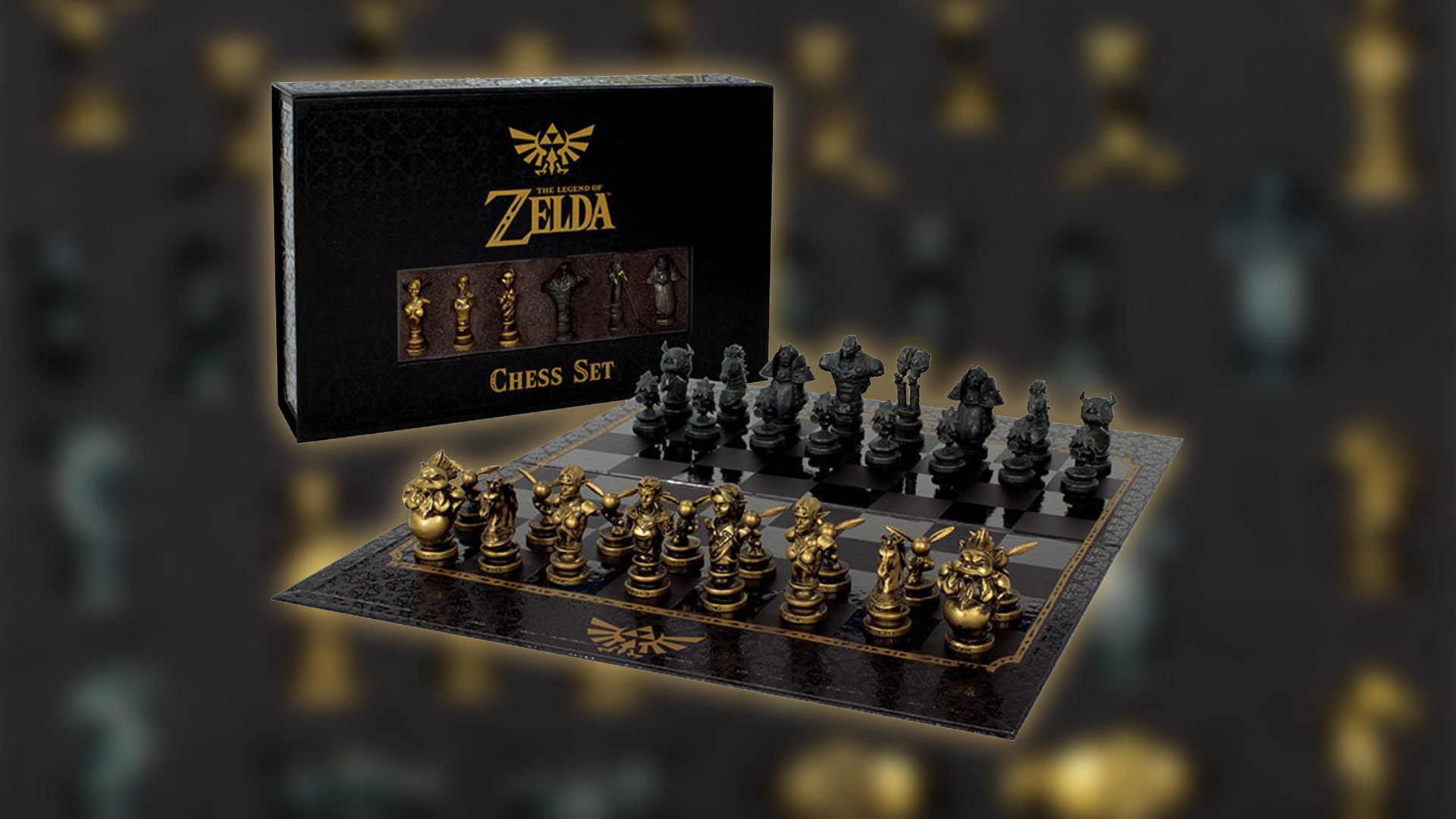 Zelda Chess Collectors Set Now Available For Pre Order