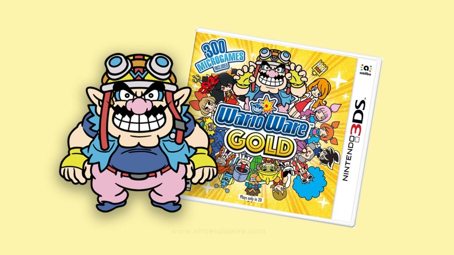 Image result for WarioWare Gold 3ds box art
