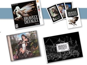 collector's edition bravely default 3ds