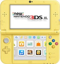 Pikachu Yellow Edition New Nintendo 3DS XL front