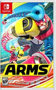 arms nintendo switch box art