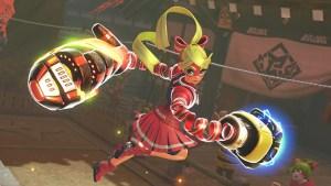 arms nintendo switch screenshot