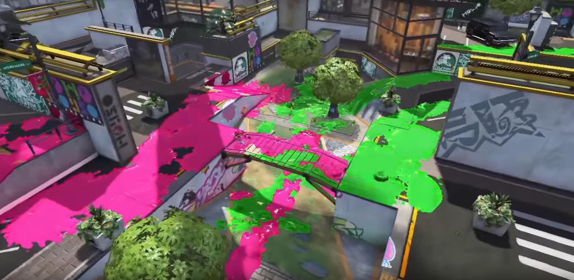 Splatoon 2 For The Nintendo Switch Screenshots Battle