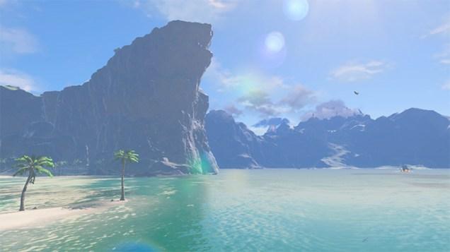 beach in breath of the wild