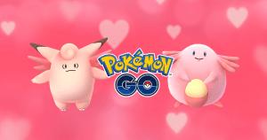 Pokemon Go Valentine's Day Celebration 2017