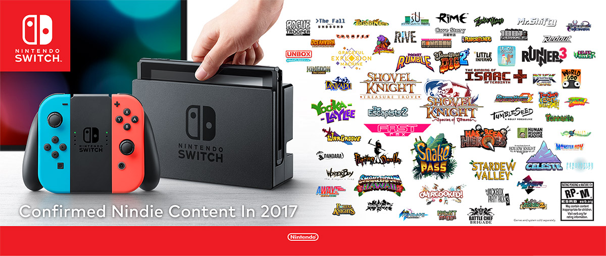 Switch Indie Games